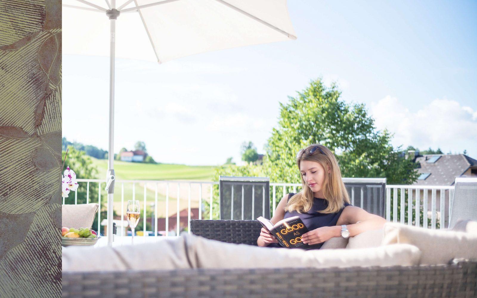 Hotel Restaurant Keplingerwirt – Terrasse Erholung
