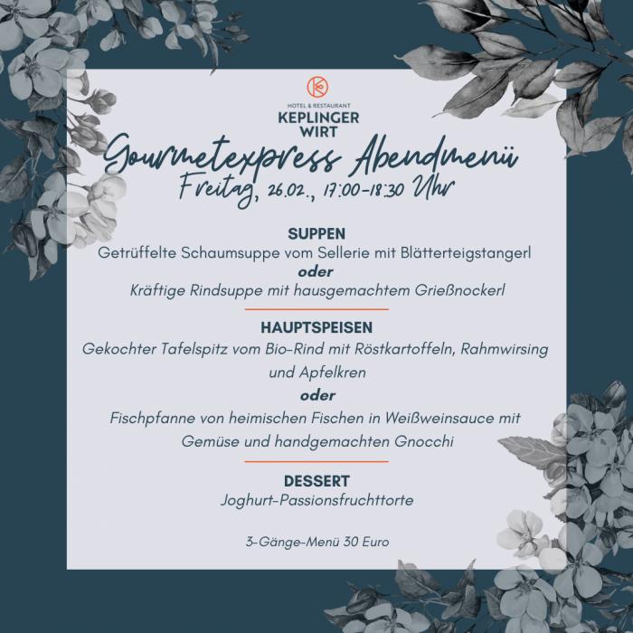 Freitagabend-gourmetexpress