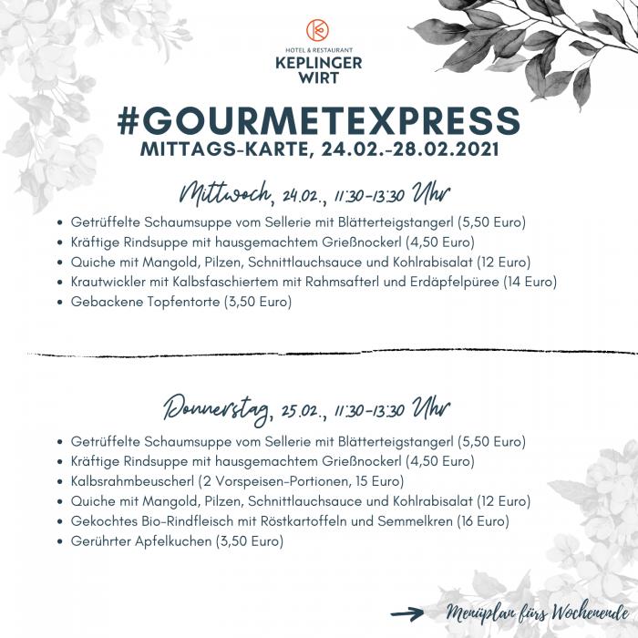 Gourmetexpress-Keplingerwirt